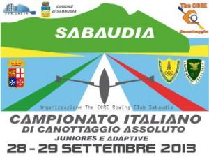 A SABAUDIA I CAMPIONATI ITALIANI di CANOTTAGGIO ASSOLUTI JUNIORES e PARA-ROWING
